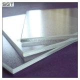 glas van het Ijzer van 4mm het Witte Geschilderde Lage voor de Bovenkant van Splashback/van de Lijst