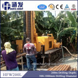 Буровая установка молотка Hfw200L для добр воды