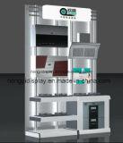 家庭用電化製品の木の表示棚、陳列台