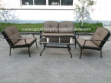 Outdoor Garden Patio acier aluminium+ 4PCS canapé Set de meubles