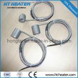 Canaux chauds de la bobine de chauffage chauffage pour machine de moulage par injection
