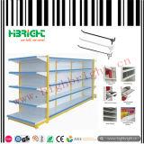 Doppeltes versah Gondel-Supermarkt-Regal-Kleingeräte mit Seiten
