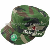 Schleifen Washed Kristalldiamantrhinestone Leisure Military Cap ( TM1996 )