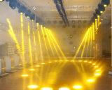 200W LED moviendo la cabeza del Partido de haz de luz de la discoteca