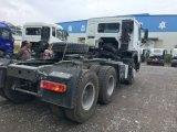 Carro de la pista del alimentador del acoplado del transporte del envase de Sinotruk HOWO 6X4