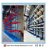 China Nanjing I-Beam H Steelworks Plant Fábrica Cantilever Racking Cantilever Racks