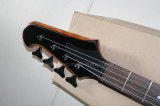 Musique de Hanhai/guitare basse électrique rouge avec 4 chaînes de caractères