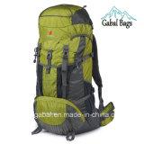 sac campant en nylon imperméable à l'eau extérieur professionnel de sac à dos de sports de 80L Moutain