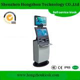 Toque no ecrã duplo pagamento quiosque com dispensador de cartão SIM
