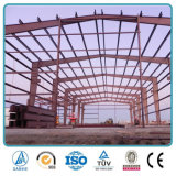 Edificio agrícola de la vaca prefabricada barata africana de la estructura de acero