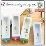 Holz-verpackenbleistift-Geschenk-Feder-Kasten-Papier-Bildschirmanzeige-Plastikfeder-Kasten-Verpackungs-Kasten-Schaukarton (YSD37)