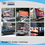 P5 Volledig LEIDEN van de Bovenkant/van het Dak van de Taxi van de Kleur Bewegend Teken