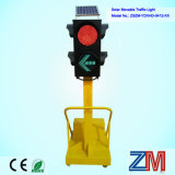 Fabrication professionnelle solaire LED mobile Traffic Light / LED temporaire Traffic Light