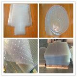 Tapis de sol en plastique transparent transparent anti-glissement