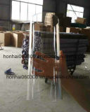 Freies und bereiftes Glas-Zylinder-Kerze-Halter
