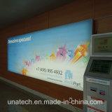 Signboard рекламировать средств Frameless СИД знамени коробка алюминиевого светлая