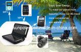iPhone, iPad, 태블릿, 전화 액세서리용 다중 전압 태양광 충전기 5V/9V/12V(PETC-S09)