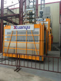 Single / Twin Big Cage Material e Passenger Construction Elevator