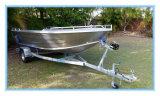 Аттестация Ce алюминиевая рыбацкая лодка Dinghy в 4.2 метра