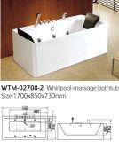 UL de goedgekeurde Badkuip van de Stralen van de Massage van de Luxe van de Badkuip van de Pomp Draagbare