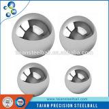 La bola de acero inoxidable/bola de acero cromado/bola de acero al carbono de alta precisión