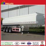 Transporte de aço petroleiro de líquido do tanque de água com volume do Reboque Opcional