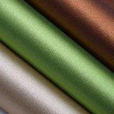 Обувная кожа яркия блеска способа, синтетическая кожа PU, кладет Leatheroid в мешки