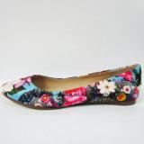 Bequeme beiläufige Schuhe der Dame-Fashion Flat Heel Ballerina