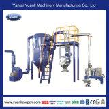 Sistema stridente verticale funzionale per la macchina di rivestimento della polvere