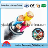 0.6/1 (1.2) câble électrique de basse tension 4X120mm2 Yjv22/Yjlv22 de kilovolt