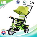 2017 새로운 대중적인 아기 세발자전거 다기능 아기 세발자전거