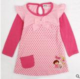 Pur Coton T-Shirt des filles les vêtements pour enfants