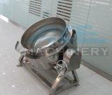 Jacketedやかん50-1000L (ACE-JCG-Q1)を傾ける蒸気暖房