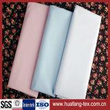 Tela de tecido de poliéster / algodão de cor azul