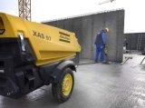 De Diesel van de Mijnbouw van Copco van de atlas Draagbare Compressor van de Lucht met de Hamer van de Hefboom