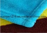Couverture de corail estampée molle superbe d'ouatine estampée par Sr-B170213-16 de couverture de flanelle