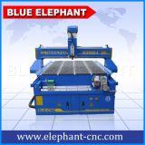 Máquina de grabado rotatoria de madera 3D del CNC del eje Ele-1325 4 para la talla de madera