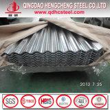 Azulejo de material para techos acanalado de aluminio en frío del cinc