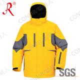 Классицистическая водоустойчивая и Breathable куртка лыжи на зима (QF-613)
