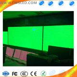P10 Semi-Outdoor solo módulo LED de color verde