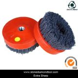 "4 ""Stone Granite Cleaning Silicon-Carbide Antique Abrasive Brushes"