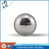Carregando a esfera de aço no material da alta qualidade