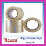 Película adherente de BOPP pegamento a base de agua goma adhesiva cinta de embalaje