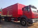 China 6X4 barato Beiben 10 Roda Van Carga Caminhão