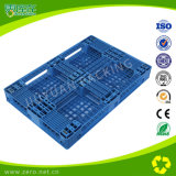 Blauwe Plastic Pallet 1200*800*135mm van de Kleur Dwarsdoorsnede
