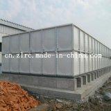 FRP GRP резервуар для хранения питьевой воды в разрезе SMC резервуар для воды