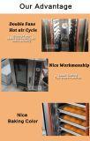 Tellersegment-Gas-Konvektion-Ofen des Brot-Ofen-/Kuchen-Backen-Oven/8
