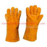Подкрепление кожаный перчаток заварки