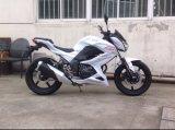 オートバイを競争させる川崎Z250