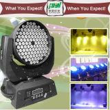108*3W LEDの移動ヘッド洗浄RGBW